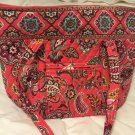 Vera Bradley VERA in Call Me Coral  NWT Retired  XL tote, overnighter, beach
