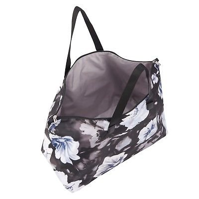 febb84540 Tumi Voyager Just In Case PHOTO FLORAL foldable duffel tote Add-A-Bag  sleeve nylon lightweight