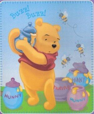Winnie The Poo Fleece Blanket