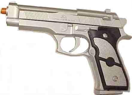 AK887 9mm Silver Airsoft Pellet Gun