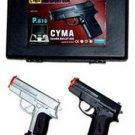2 Airsoft Guns w/ Case