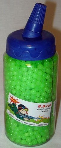 2000 6mm Glow in the Dark AirSoft Pellets