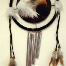 Eagle Dreamcatcher w/ Windchime