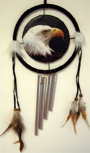 Eagle Dreamcatcher w/ Windchime