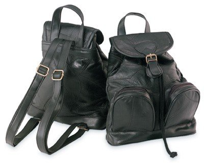 Genuine Leather Back Pack Style Purse