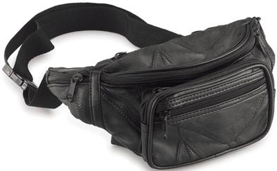 Leather Fanny Pack - Waist Bag