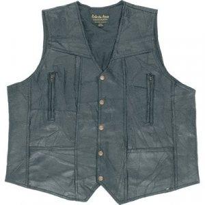Genuine Leather Vest - 1X