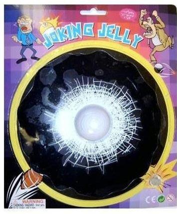 Rock Joking Jelly 3D Window Decal