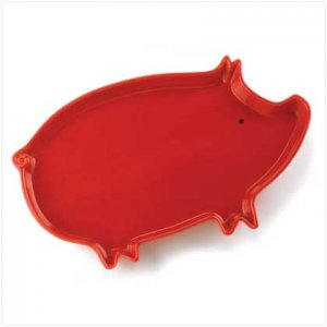 Ceramic Pig Tray