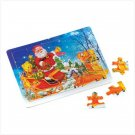 Santa's Sleigh Wooden Tray Puzzle