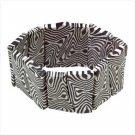 Zebra Stripe Cuff Bracelet