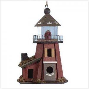 Lighthouse Birdhouse