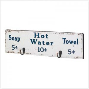 Bathhouse Towel Rack