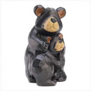 Country Cuddle Bears Figurine