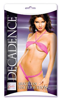 Decadence Brazilian Halter and Thong
