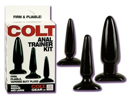 COLT Anal Trainer Butt Plug Kit