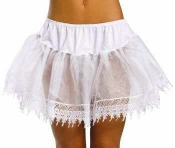 Crinoline Skirt with Special Lace Trim