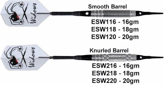 Laser Silver Widow Soft tip Darts