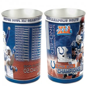 Indianapolis Colts Trash Can Superbowl Champions