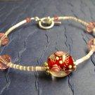 Rosebuds Bracelet - Swarovksi Crystals