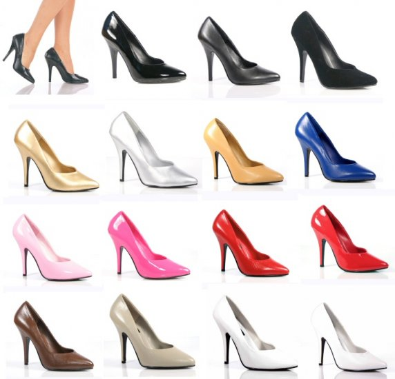 "Seduce"" - Women's Classic Patent Pumps/Shoes -"
