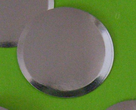 Circle Metal dome (no dimple) 6C-200BFOO