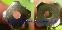 Snap Dome- Dia 12.2mm Cross Dome with Through Hole
