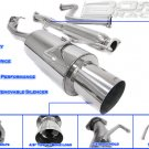 EXHAUST CATBACK 90-93 HONDA ACCORD