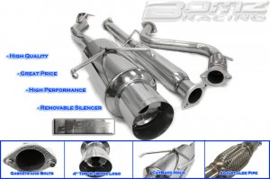 EXHAUST CATBACK 94-97 HONDA ACCORD 4CYL