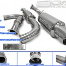 EXHAUST CATBACK 95-99 ECLIPSE TURBO
