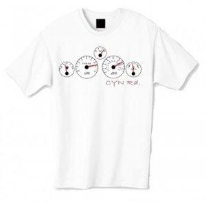 CYN Gauges Tshirt (White)