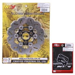 NCY 200mm Rotor Kit for Genuine Buddy 50