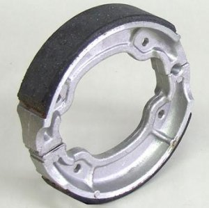 NCY Performance Brake Shoes Yamaha Zuma 50 2t