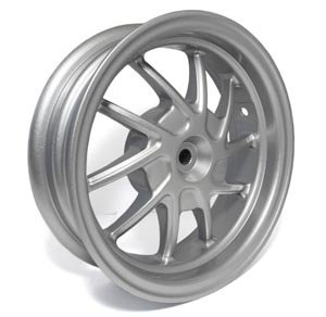 NCY Rear Wheel Honda Ruckus Silver (10 Spoke)