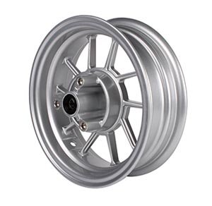 NCY Front Wheel Honda Ruckus Silver (10 Spoke)