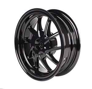 NCY Rear Wheel Honda Ruckus Black (10 Spoke)