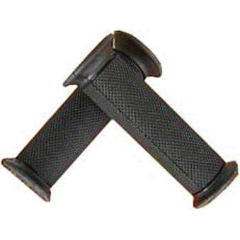 NCY Handlebar Grips (Black, Rubber) Closed ends