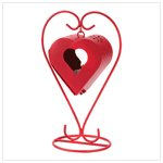 Romantic Red Heart Lantern