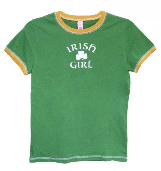 Irish Girl Shamrock Hyp Shirt (Juniors sz. S, M, L, XL)