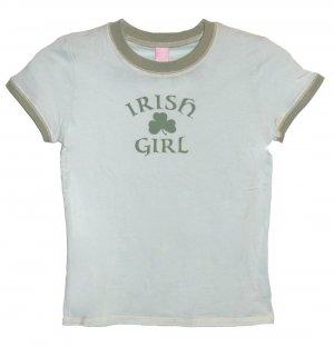 Irish Girl Shamrock Hyp Shirt (Girls sz. 7/8, 10/12, 14/16)