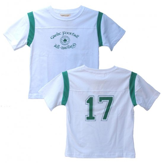 Irish Tee Gaelic Football All Ireland 17 (Child szs. 2T, 4T, 6)