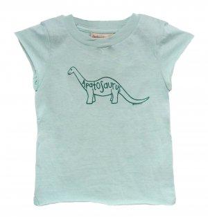 Apatosaurus Jurassic Dinosaur Shirt (Child 2T, 4T, 6)