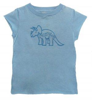 Triceratops Jurassic Dinosaur Shirt (Child 2T, 4T, 6)