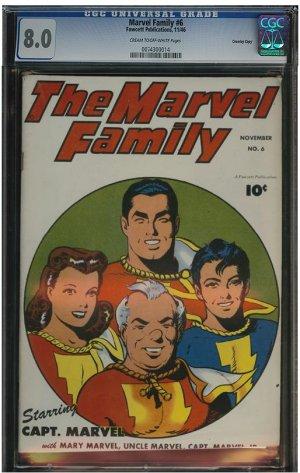 Marvel Family #6 (CGC 8.0) Highest Graded!