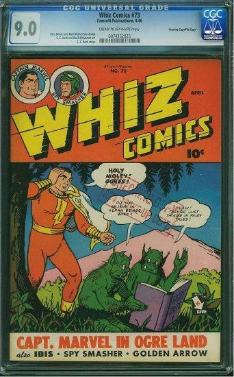 Whiz Comics #73 (CGC 9.0) File Copy -2nd HIGHEST GRADED