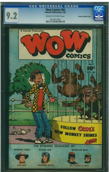 WOW Comics #66 (CGC 9.2) File Copy - 2ND HIGHEST GRADED