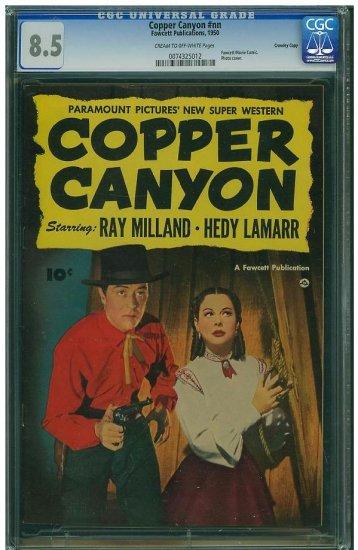 Copper Canyon #nn (CGC 8.5) HIGHEST GRADED FAWCETT COMIC