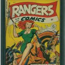 Rangers Comics #48 (CGC 8.5) 4TH HIGHEST GRADED
