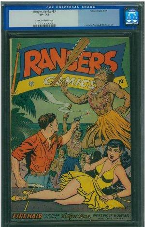 Rangers Comics #35 (CGC 7.5)