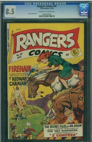 Rangers Comics #50 (CGC 8.5) 2ND HIGHEST GRADED